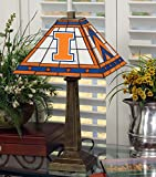 NCAA University of Illinois 23in Mission Lamp, One Size, Multicolor