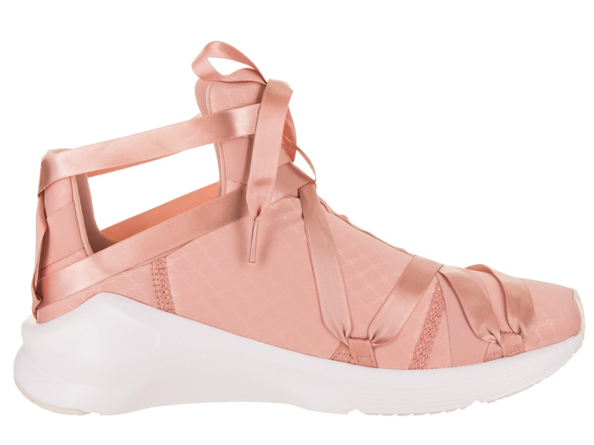 PUMA Womens Fierce Rope Satin EP B073WHK7FJ 9 B(M) US|Peach Beige/Puma White/Pearl