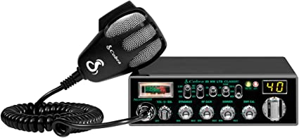 Cobra 19DXIV Professional CB Radio Full 40 Channels LCD Display Instant Channel 9 and 19 Compact Design RF Gain Control 4 Watt Output