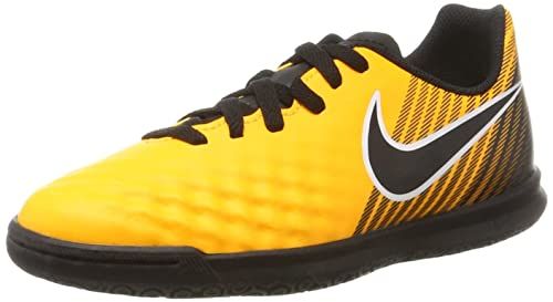 Nike Magistax Ola II IC, Scarpe da Calcio Unisex-bambini, Giallo (Volt/Volt-Barely Volt-Electric verde), 38.5 EU