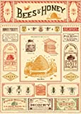 Cavallini Papers & Co. Inc, Bees and Honey Wrap