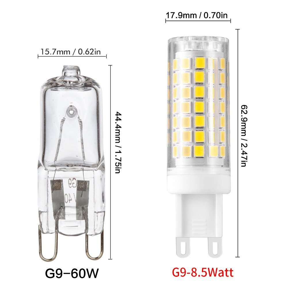 Dimmable G9 Led Bulb 7w 75w Halogen Bulb Replacement