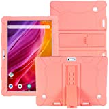HminSen Case for Dragon Touch Notepad K10 / Max10 Tablet, Silicone Adjustable Stand Cover Compatible Dragon Touch K10…