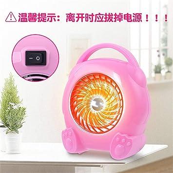 Wenxiang pequeña tienda GWX-Mini Estufa hogar Oficina,Pink