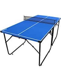 IF 6 Feet Ping Pong Table Portable Table Tennis Table With Folding Legs And  Net For