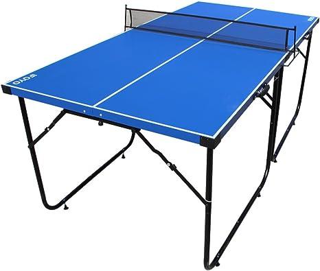 IFOYO - Mesa de Ping Pong de 6 pies con Patas Plegables y Red para niños y Adultos, Montaje rápido: Amazon.es: Deportes y aire libre