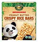 EnvirokidzOrganic Gluten-Free Crispy Rice Bars, Panda Peanut Butter, 6 Ounce (Pack of 6)