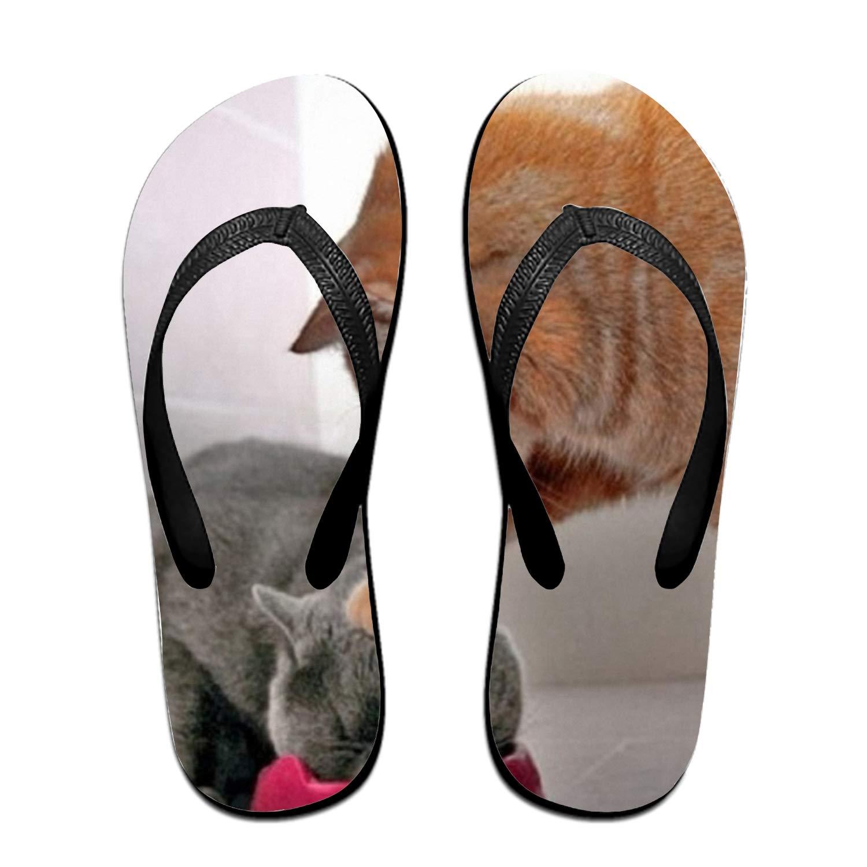 Kefanlk Unisex Fierce Wolf Sandal Slipper Comfortable Shower Beach Shoe Slip On Flip Flop
