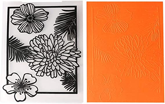 Thick Scrapbooking Rubber Stamp Thermoplastic Rubber Embossing Folder Album Decor for Envelopes DIY Handcraft Photo