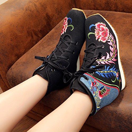 xichengshidai multicolore femme multicolore pour Mocassins 66qwYT