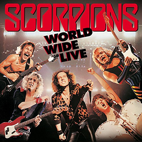 Scorpions: World Wide Live CD+DVD (50th Anniversary Deluxe Edition) (Audio CD)