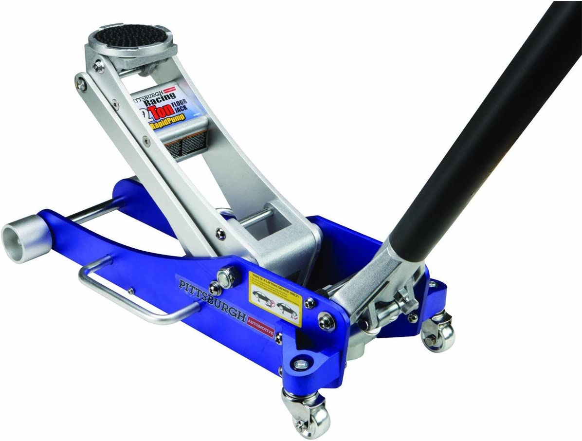 Amazon Com 2 Tons Aluminum Racing Floor Jack With Rapid Pump