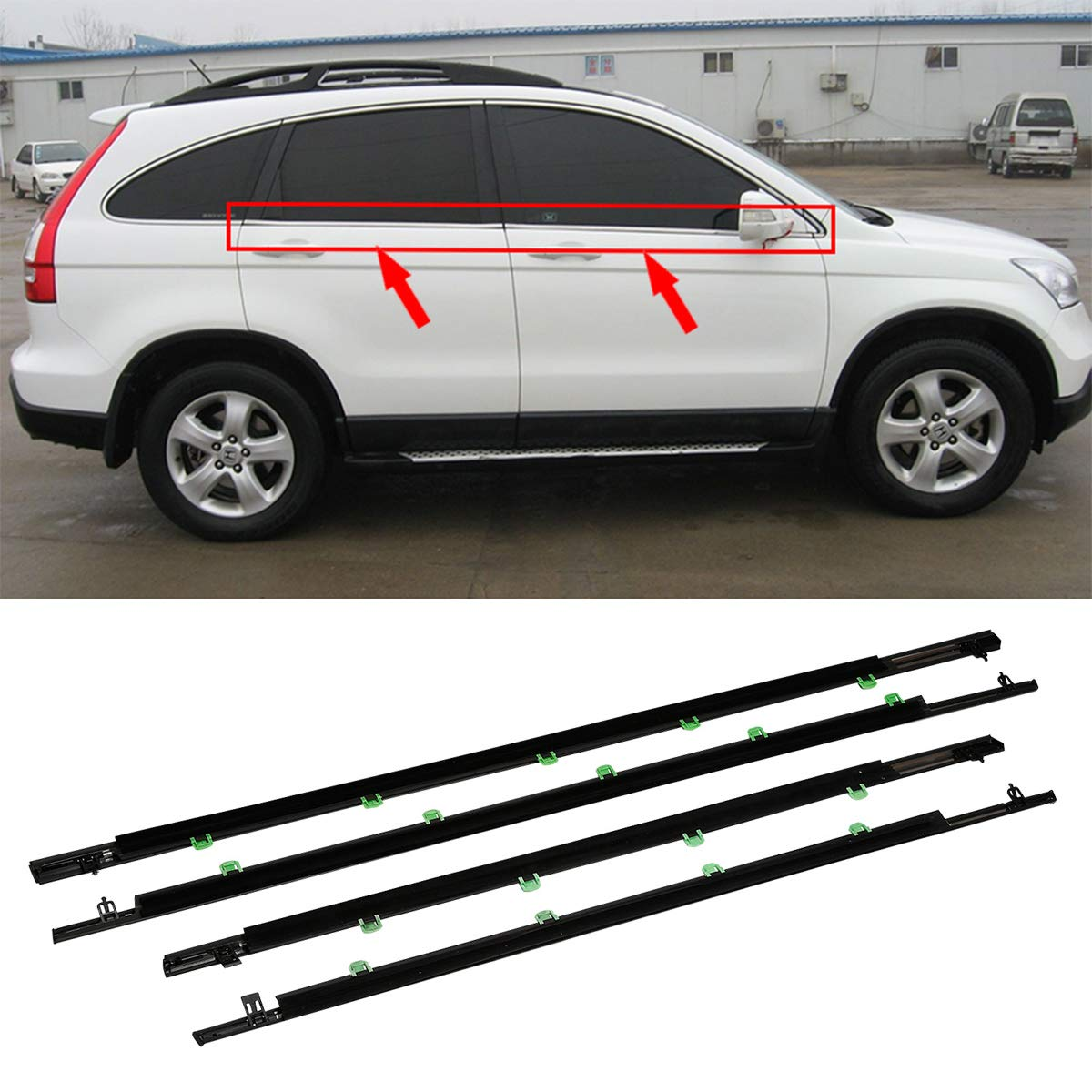 Weather Stripping TC-Home Outer Window Sweep-Belt Moulding ...