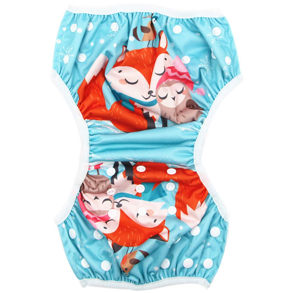 0-3 Jahre Kleinkind-Baby Jungen M/ädchen Badehose Bademode Badeanz/üge Schwimmen Windeln,Wiederverwendbar Justierbar Badehose,f/ür Baby-Schwimmen Lektion aiyvi Kinder Badehose
