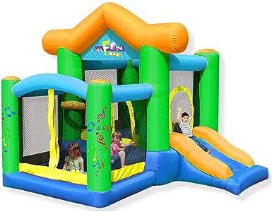 WJSW Castillos hinchables Castillo Inflable para niños Tobogán ...