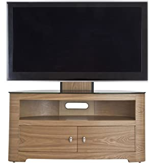 avf fsl1000bleo blenheim oak tv stand with mount for up to 65 inch