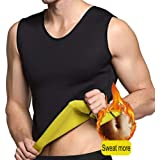 GZXISI Men Waist Trainer Corset Vest for Weight Loss Hot Neoprene Body Shaper Tank Top Workout Sauna Suit Shirt