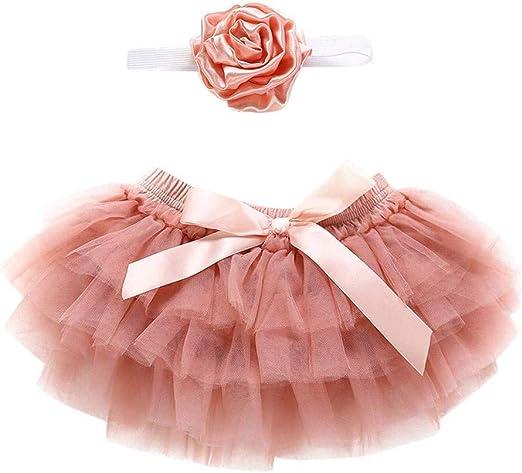 GOSEONE Conjunto de Falda de Tul para niñas: Amazon.es: Hogar