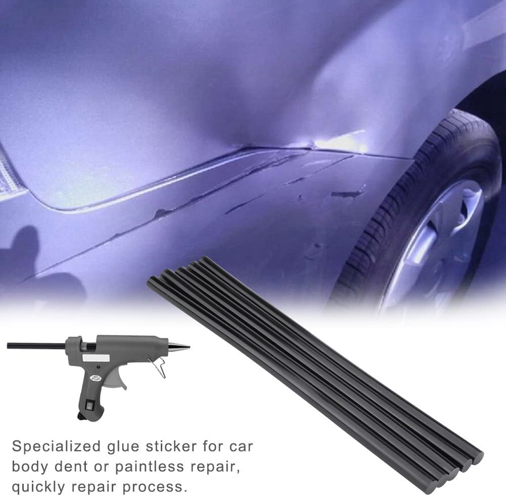 Keenso 5pcs 11 270mm Hot Melt Glue Sticks Car Body Paintless Dent Repair Puller Tool Bars Paintless Repair Tools
