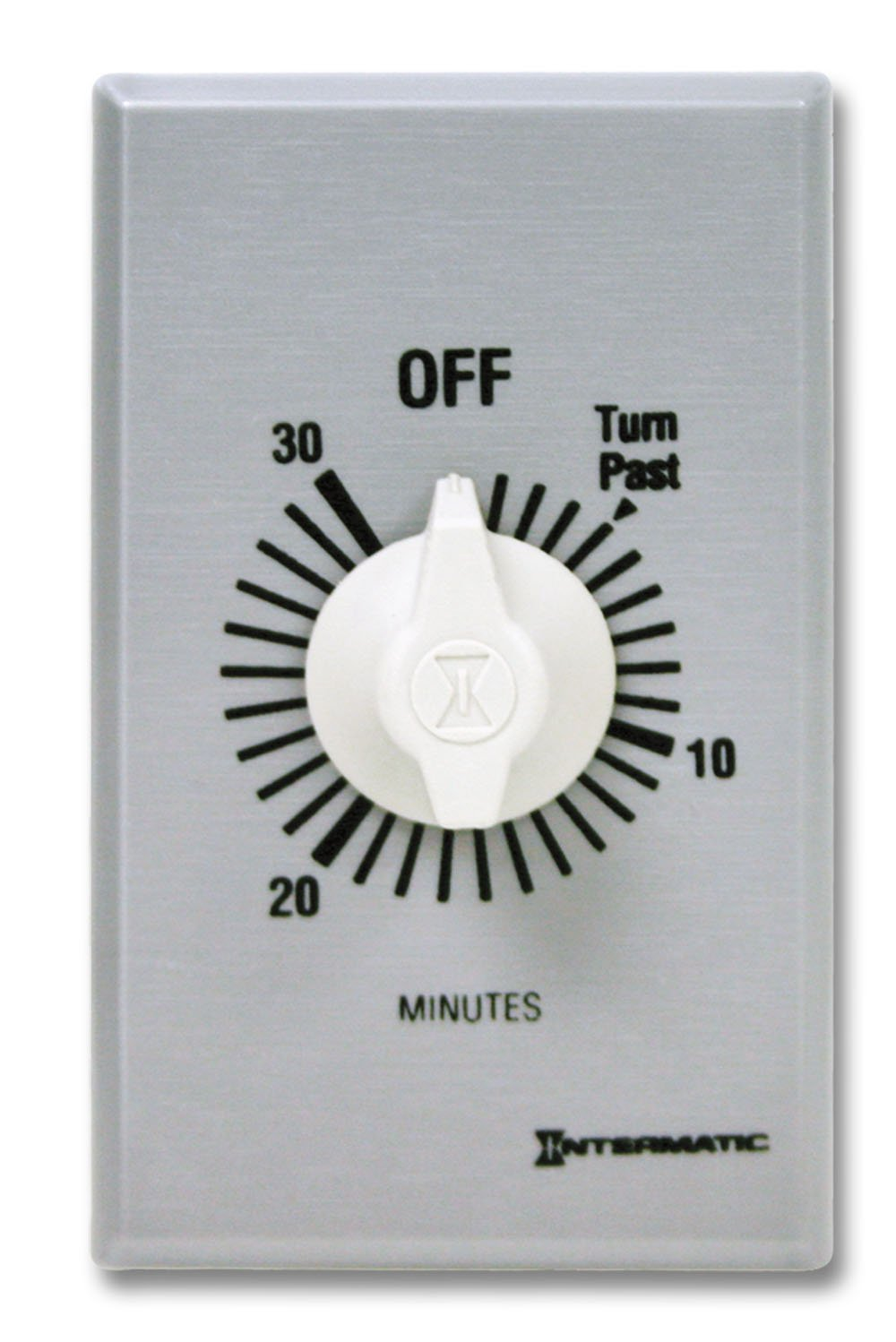 Intermatic SW30MK 30-Minute Spring Wound Timer, Gray