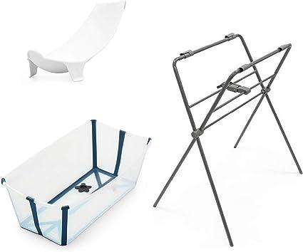 Baignoire Flexi Bath Bleu Transat Et Support De Baignoire Stokke Amazon Fr Bebes Puericulture