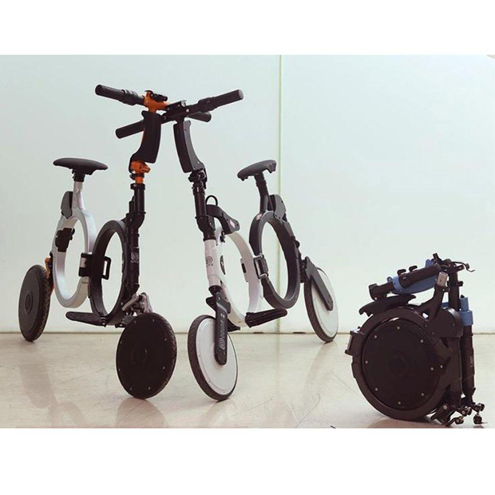 NEOFOLD URBAN STYLE Bicicleta eléctrica plegable con batería recargable de litio 48V, Patinete eléctrico plegable NEOFOLD, Scooter electrico Velocidad ...
