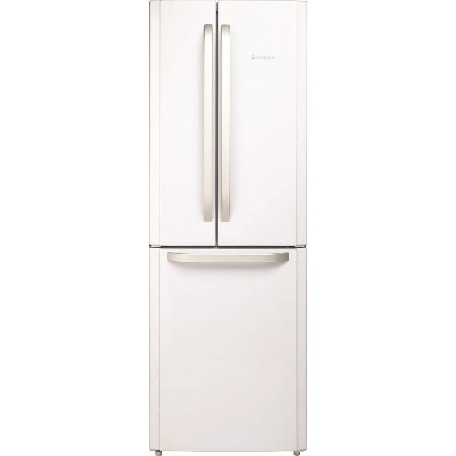 Hotpoint FFU3DW Trio Freestanding Fridge Freezer With French-style Fridge  Doors White: Amazon.co.uk: Large Appliances