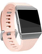 for Fitbit Ionic Bands, Maledan Classic Replacement Accessory Wristbands for Fitbit Ionic Smart Watch, Large Small