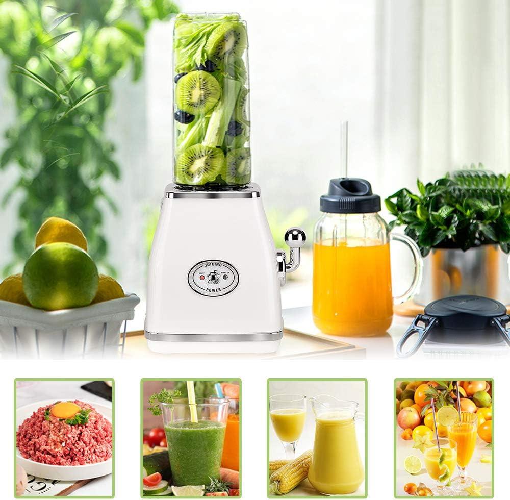 Licuadora portátil Mini Blenders, Botella de frutas y verduras ...