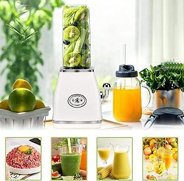 XIAPIA Licuadora portátil Mini Blenders, Botella de Frutas y ...