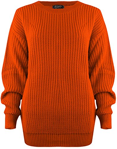 C25  NEW WOMENS CABLE KNITTED LADIES PLUS SIZE JUMPER IN 08-22