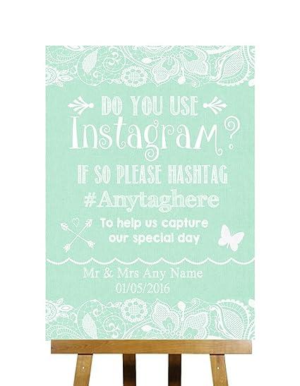 Verde yute y encaje Collection fotos en Instagram personalizado ...