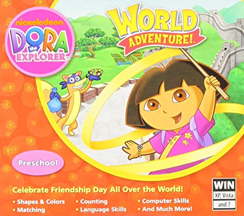 Dora Explorer World Adventure JC PC product image