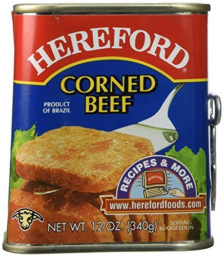 Hereford Corned Beef (Case of 6) by Hereford ()