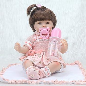 Heaviesk Reborn Baby 15.74 Pulgadas Recién Nacido Baby Dolls Bebe ...