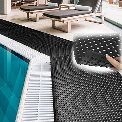 Industrie oder K/üchen rutschhemmend 100x200 cm viele Gr/ö/ßen Gummil/äufer f/ür Schwimmbad Anti-Rutschmatte Pool Runner