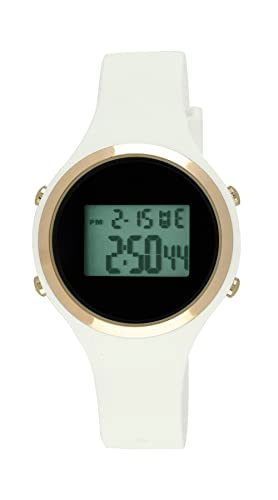 Moulin Ladies Digital Jelly reloj blanco # 03158 - 76627: Amazon.es: Relojes