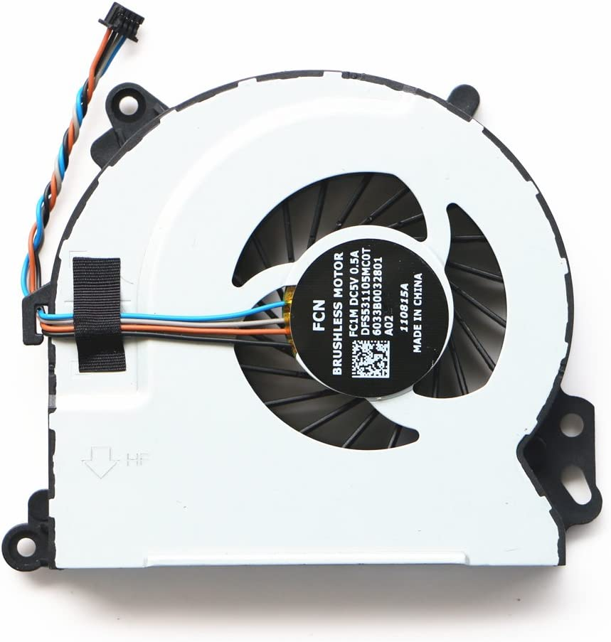 720235-001 Laptop Cpu Cooler Fan For HP Envy15 Envy15-J000 ENVY M7 17-J 15-j004tx 15-j040sr 15-j011dx 15-j133tx 15-j137tx 17-j073ca 17-j083ca 17-j006sr 17-j029nr 17-j050us Cpu Cooling Fan 6033B0032801