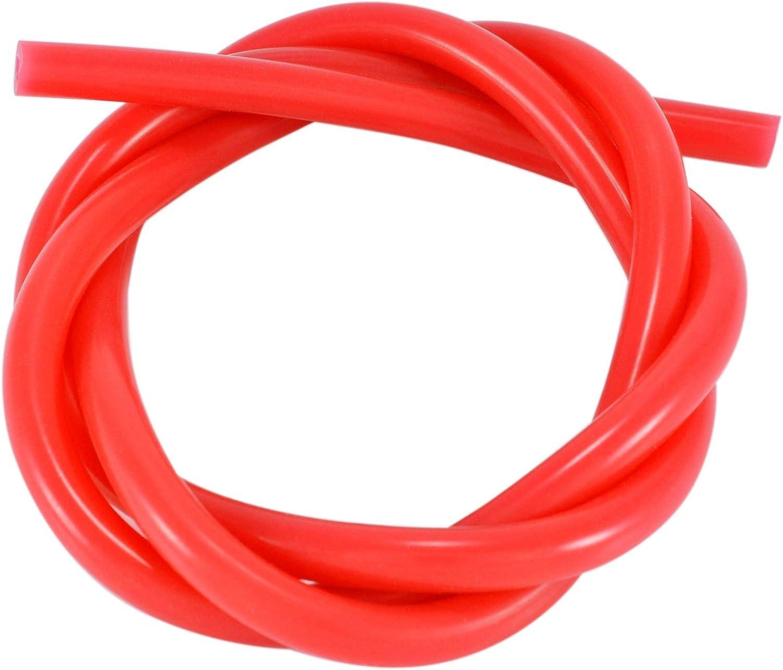 3 mm ID colore: rosso Tubo in silicone 1 m