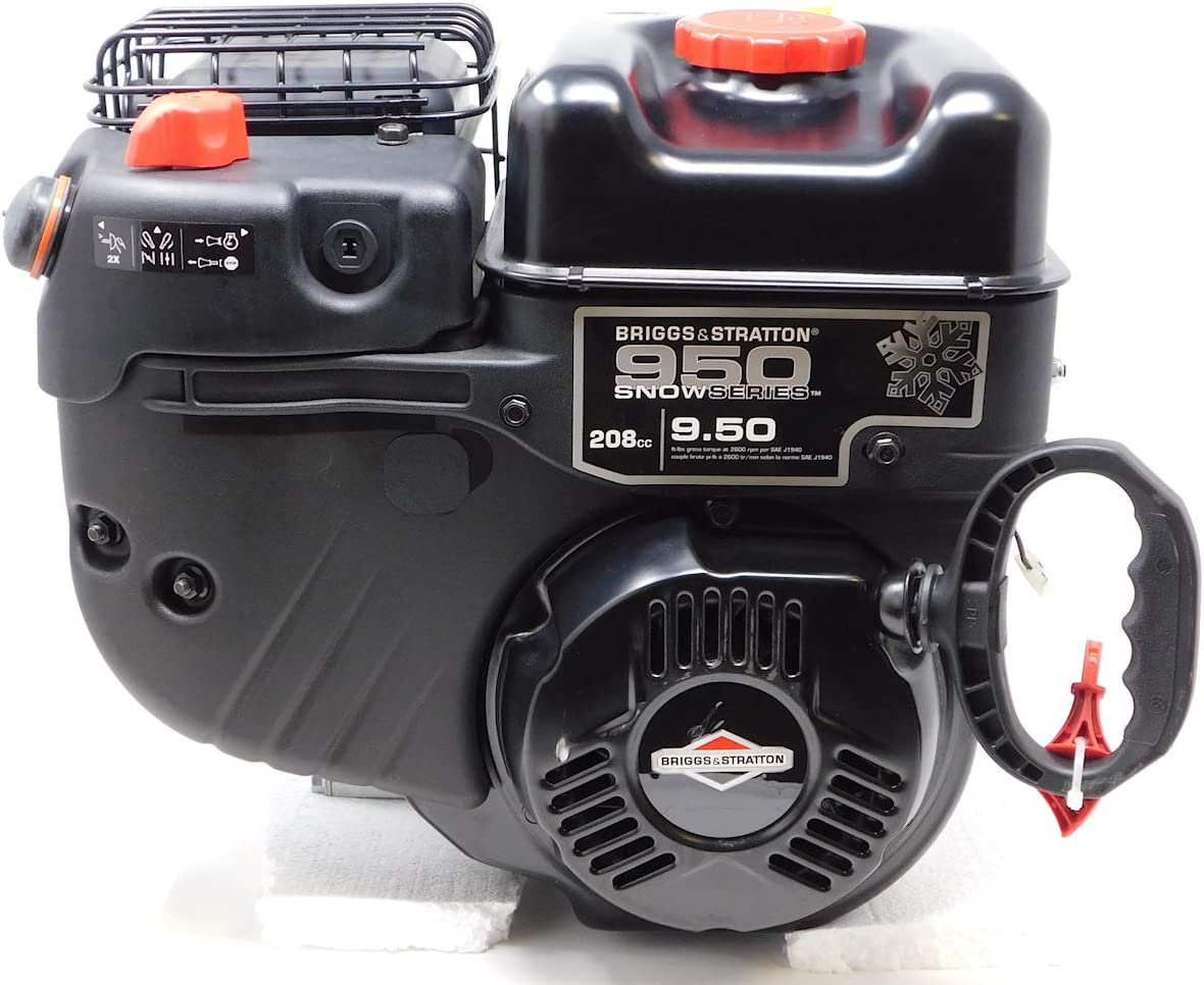 Briggs & Stratton 13D136-0010 Horizontal 208cc Snow Engine 9.5 TP