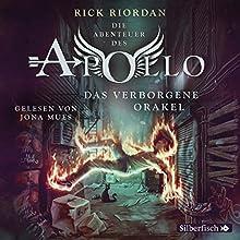 Das verborgene Orakel (Die Abenteuer des Apollo 1) Hörbuch von Rick Riordan Gesprochen von: Jona Mues