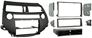 Metra 99-7874 Single/Double DIN Installation Kit for 2008-2009 Honda Accord 08-UPW/O DUAL A/C