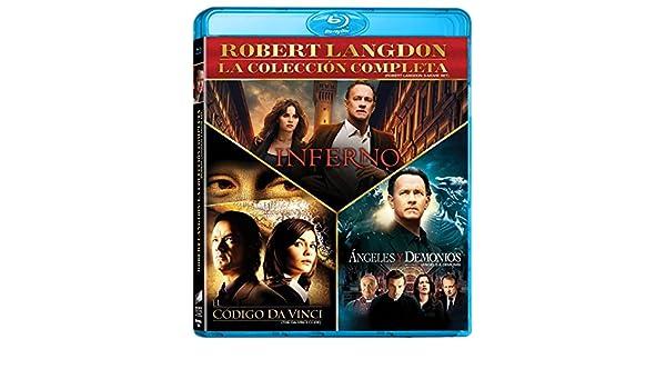 Amazon.com: The Da Vinci Code (Robert Langdon) 3-Movie Collection: El Código Da Vinci / Angeles y Demonios / Inferno (Multi-languages Edition) Region FREE: ...