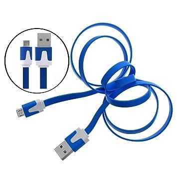 CellBig Micro USB Cable de datos plano notaciones Cable ...