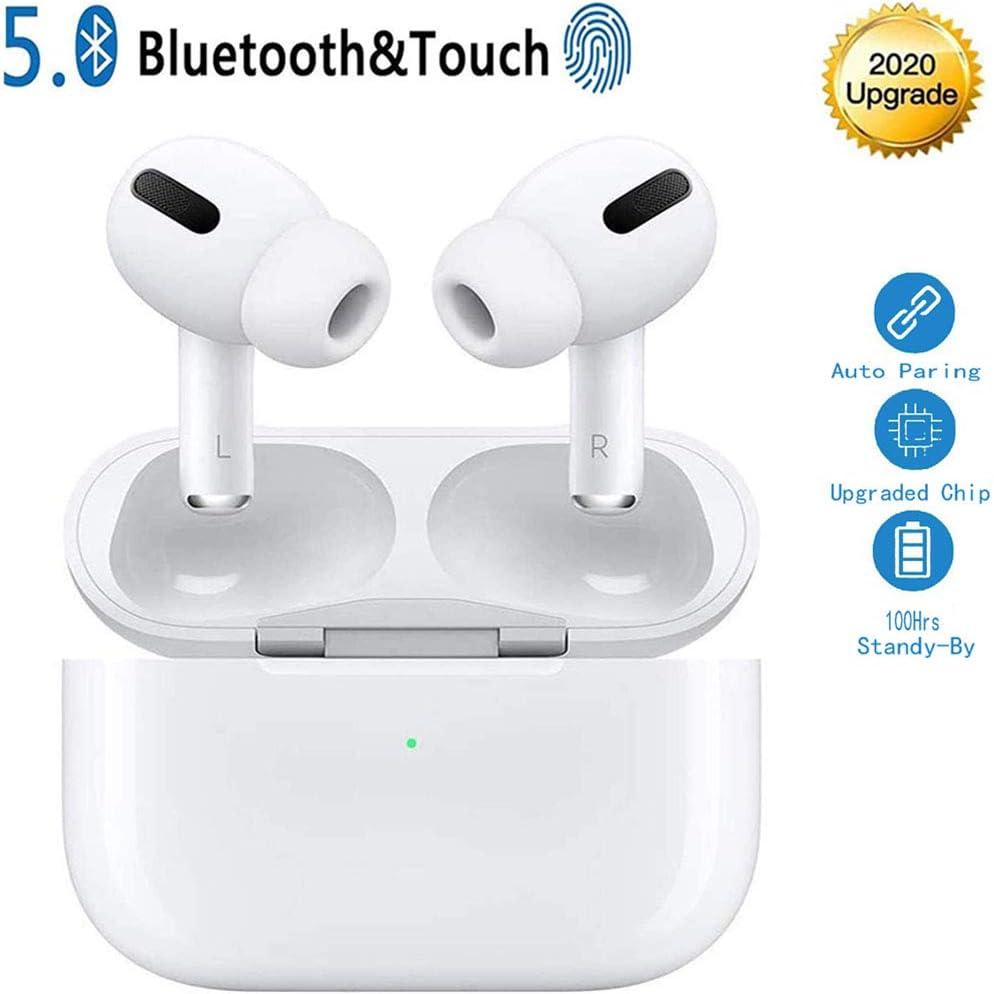 LIFO Auriculares Bluetooth Auriculares inalámbricos 5.0 Auriculares Bluetooth en Oreja Auricular Estéreo inalámbrico en Oreja Manos Libres para Android/Samsung/iPhone/Apple Airpods Pro