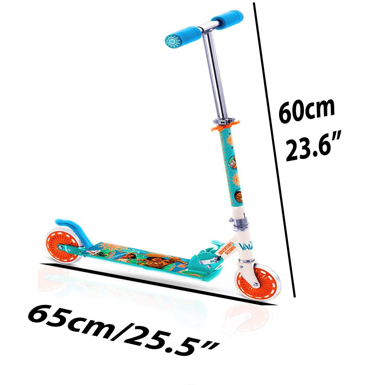Amazon.com: Scooter, Vaiana/Moana 2 ruedas patinete ...