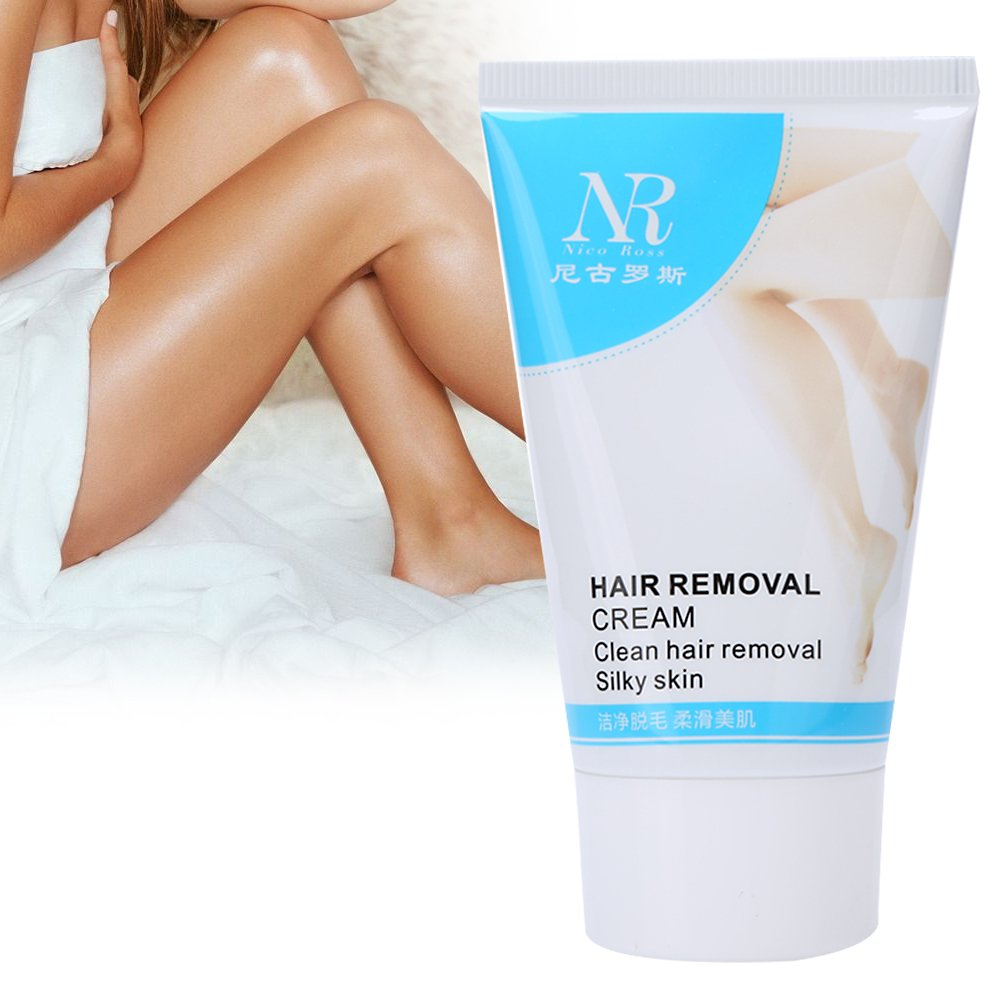 Hair Removal Cream, Skin So Soft Fresh & Smooth Women Armpit Legs Pubic Underarm Body Health Beauty Depilatory Paste 60ml ZJchao