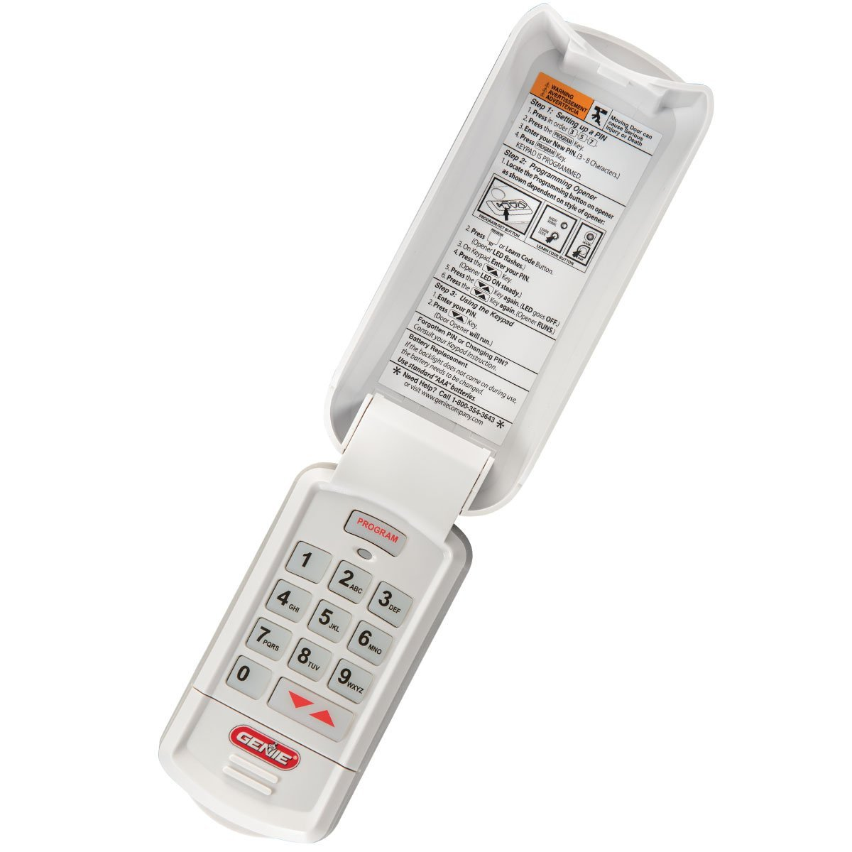 New Genie Remote Control Intellicode Wireless Keypad