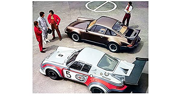 Amazon.com: 1976 Porsche Turbo Carrera 930 & 934 Race Car Automobile Photo Poster: Entertainment Collectibles