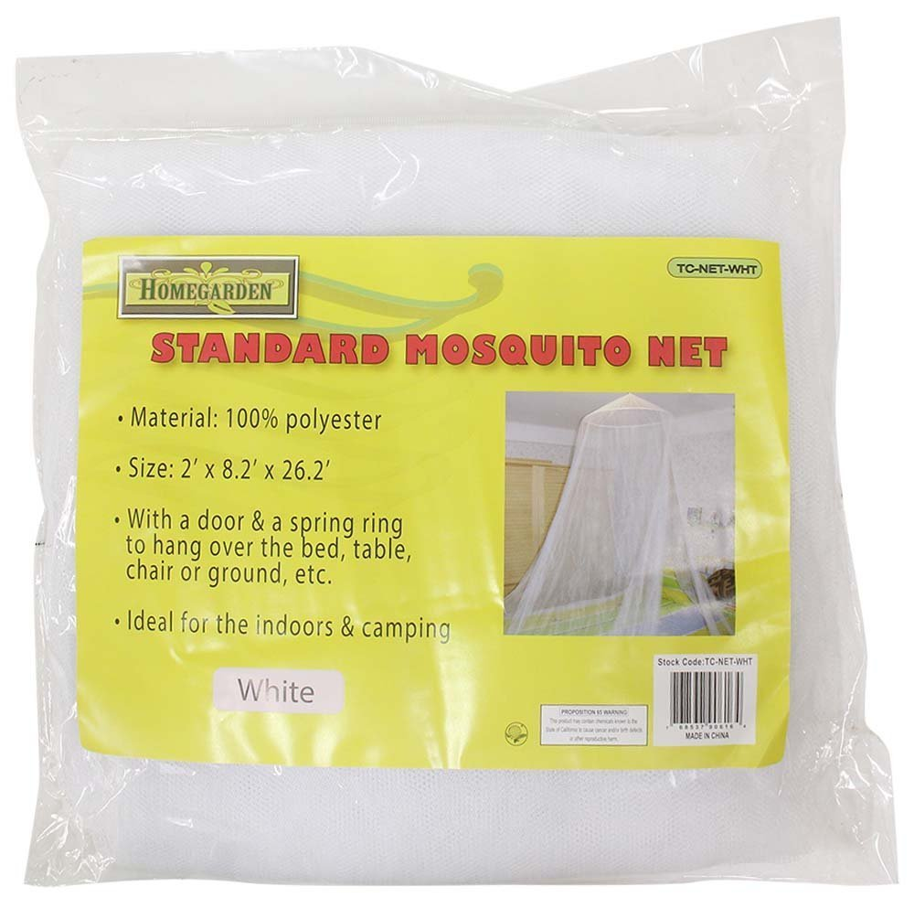 60mm by 250mm by 800mm White Hawk TC-NET-WHT 100-percent Polyester Mosquito Net